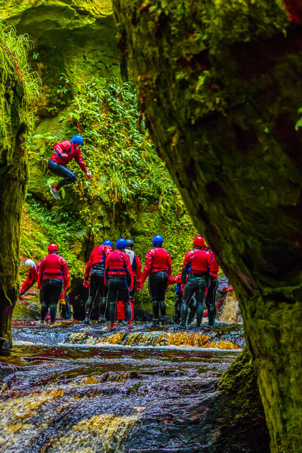 Gorge Walking Go Countryy Adventure Aberfoyle