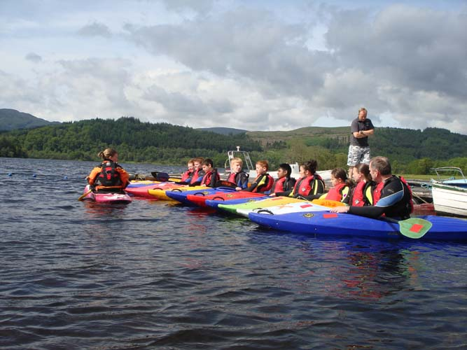 Kayak Hire Go Country Adventure Trossachs