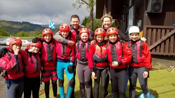 Childrens Group Days OUt Go Country Adventure Kinlochard