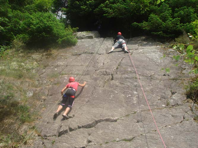 Climbing & Abseiling Go Country Adventure Aberfoyle