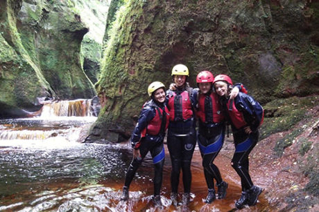 Gorge Walking Go County Adventure Trossachs