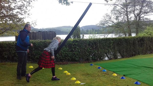 Mini Highland Games - Go Country Adventure Kinlochard