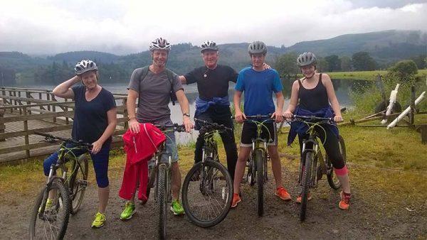 Mounting Biking Go Country Adventure Kinlochard