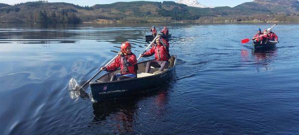 Canoeing Equipment Hire - Go Country Adventure Lochard