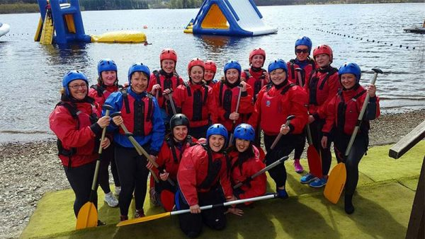 Corporate Activitiy Canoeing - Go Country Adventure