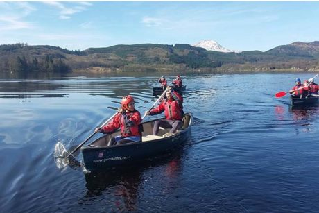 Canoeing Corporate Activities Go Country Adventure