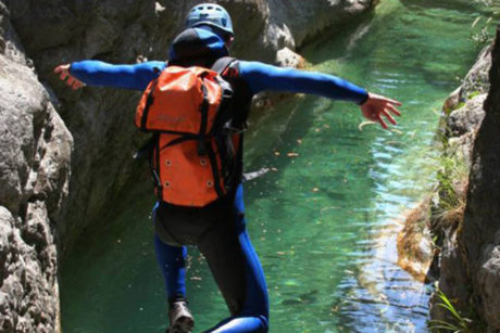 Cliff Jumping Corporate Activities Go Country Adventure