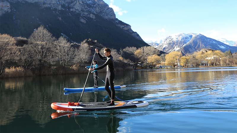 Paddleboarding Go Country Adenture Lochard