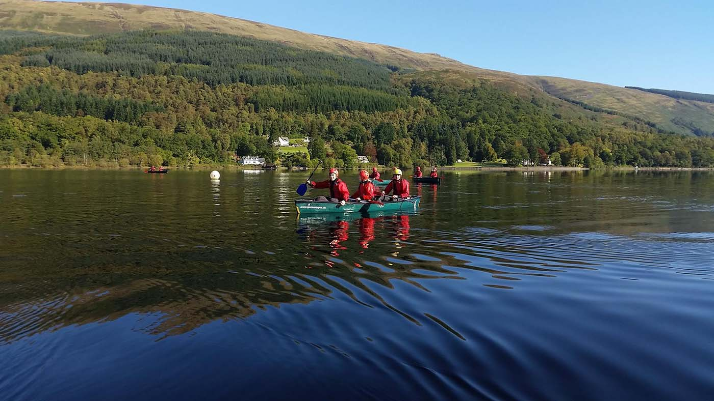 Corporate Activities Go Countyry Adventure Aberfoyle